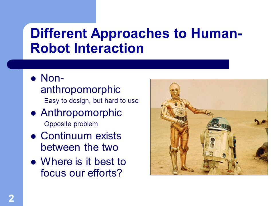 The Social Robots Project - ppt video online download