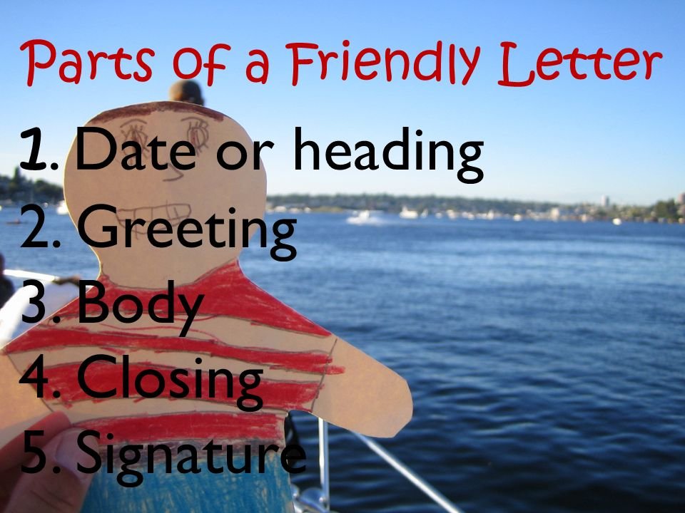Writing A Friendly Letter Ppt Video Online Download