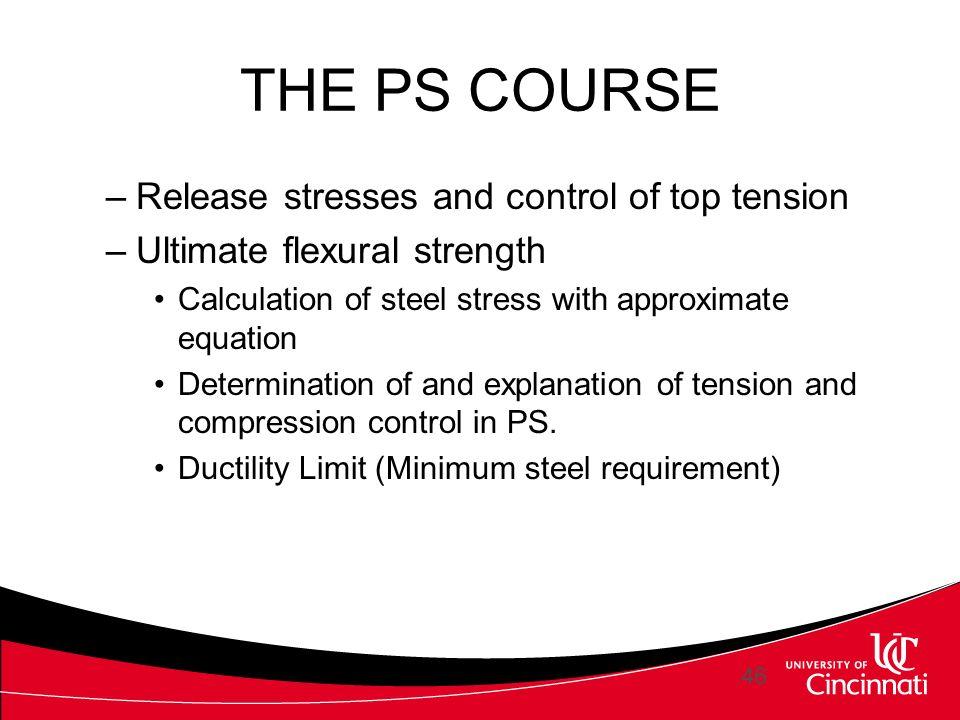 TEACHING PRESTRESSED CONCRETE DESIGN - ppt video online download