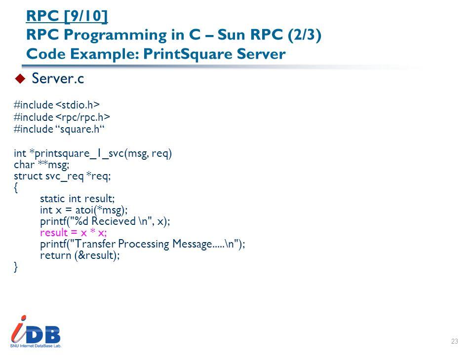C gcc program for rpc c programming c4learn. Com.