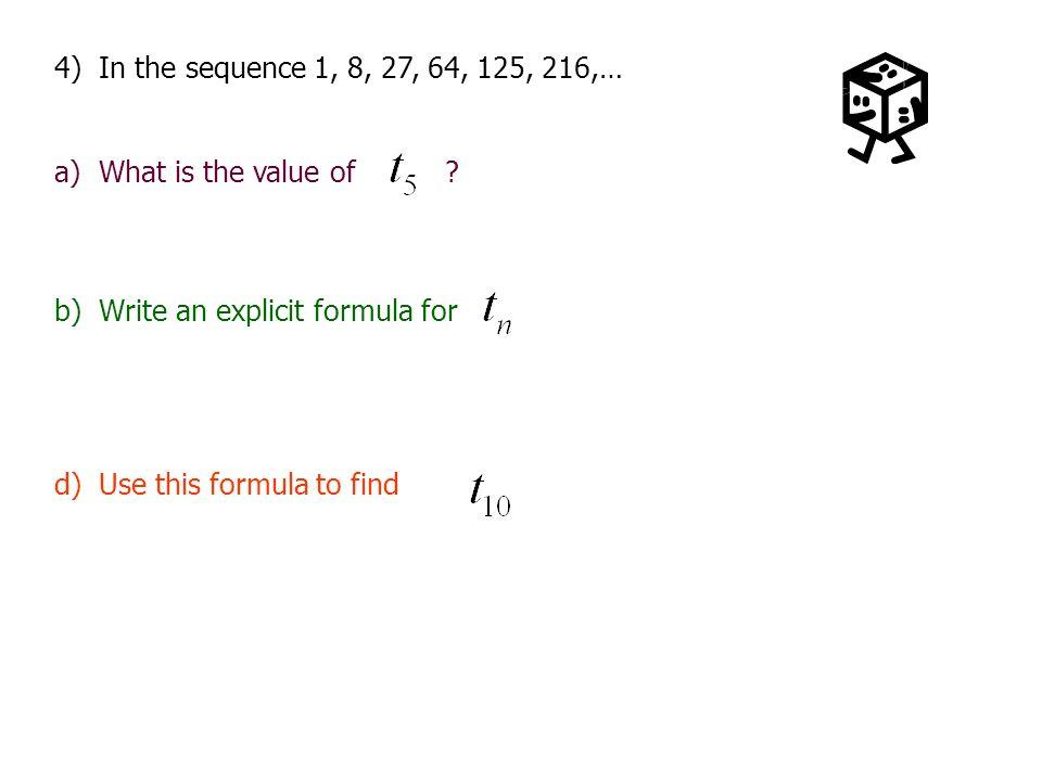 Recursive Formulas For Sequences Algebra Ii Cp Mrs Sweet Ppt Download