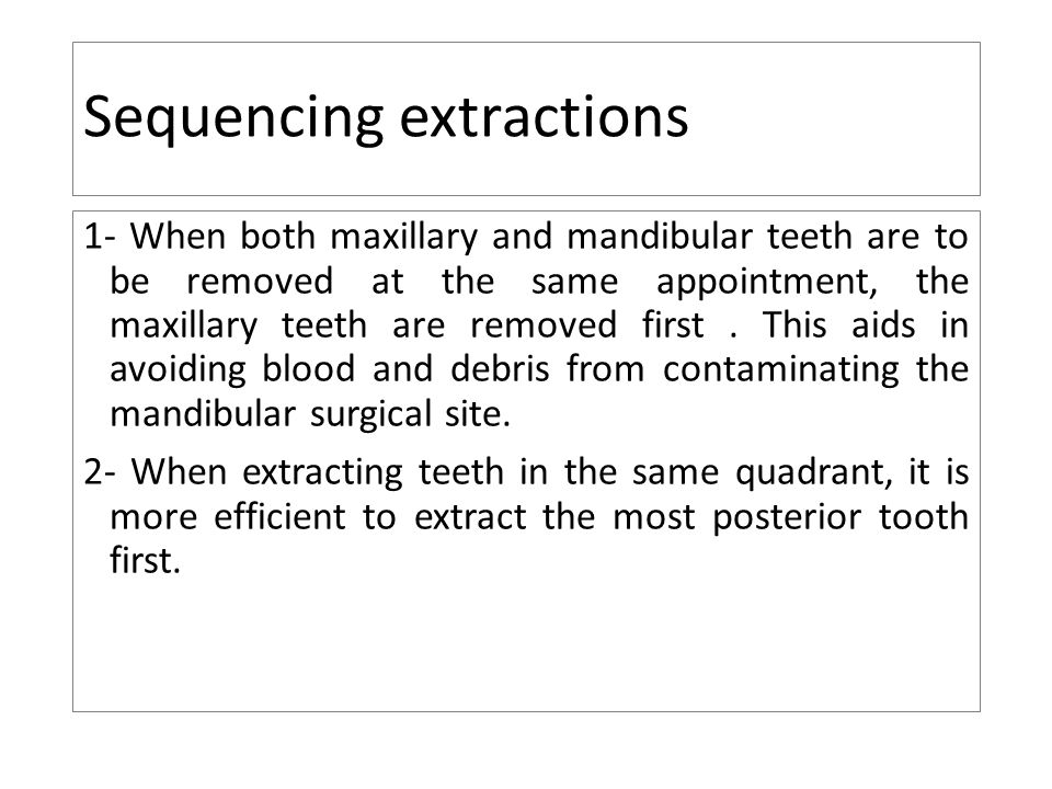 Principles Of Teeth Extraction Ppt Video Online Download