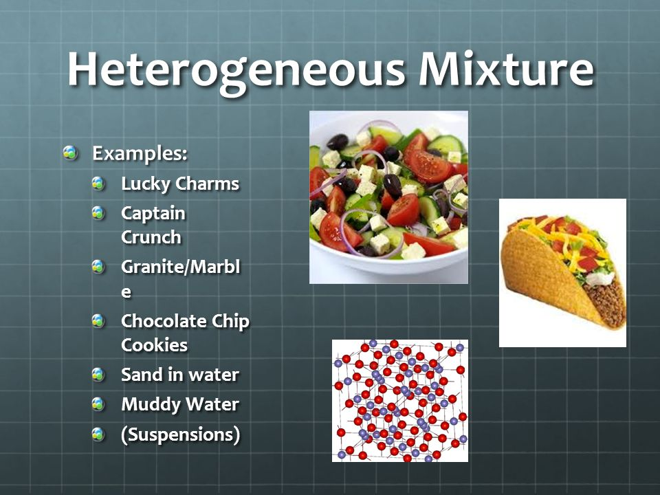 An example of a homogeneous mixture