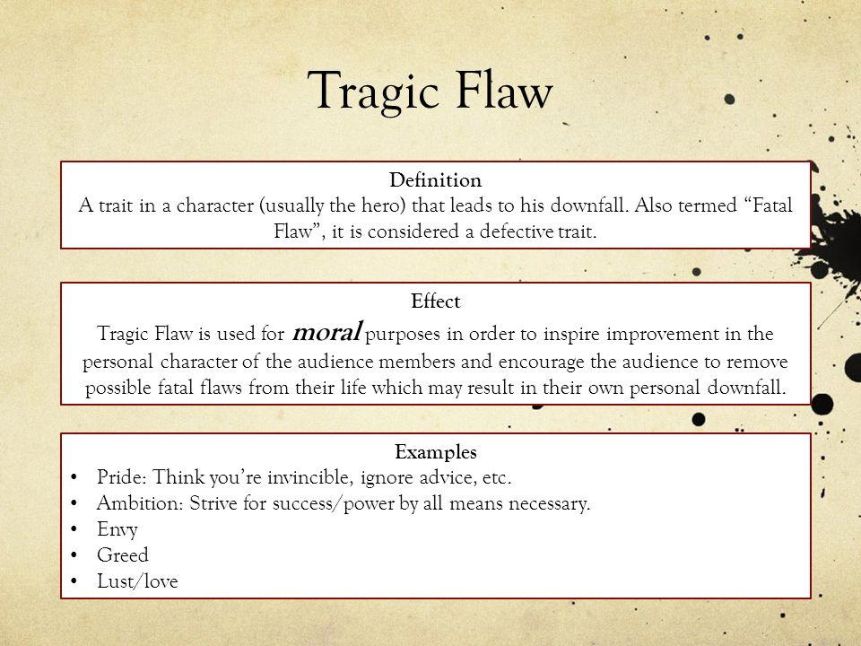 tragic flaw definition