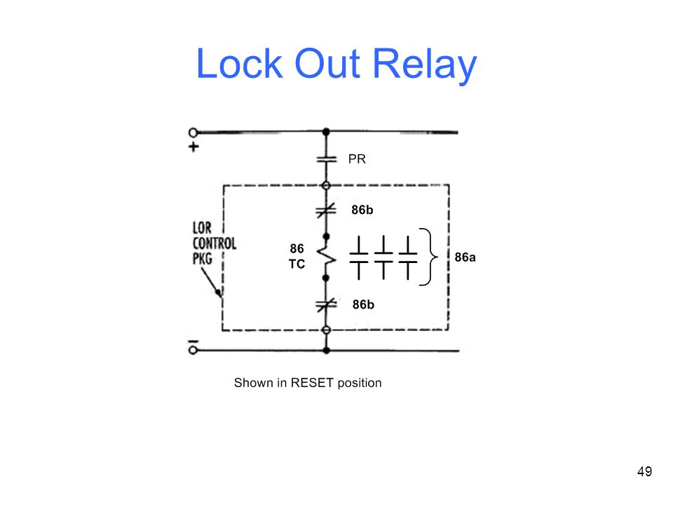 Lockout Relay Wiring Diagram Automotive Wiring Diagrams