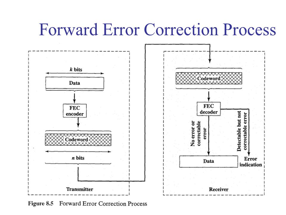 Forward Error Correction Process