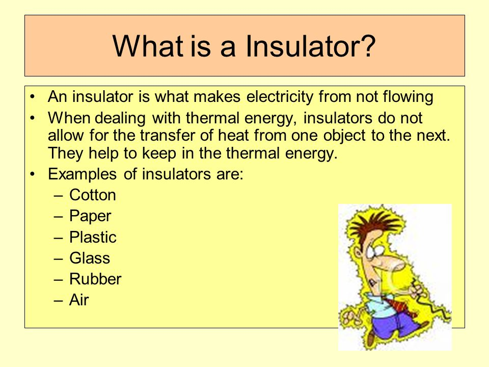 Thermal conductors and insulators by chsdigest234 on emaze.