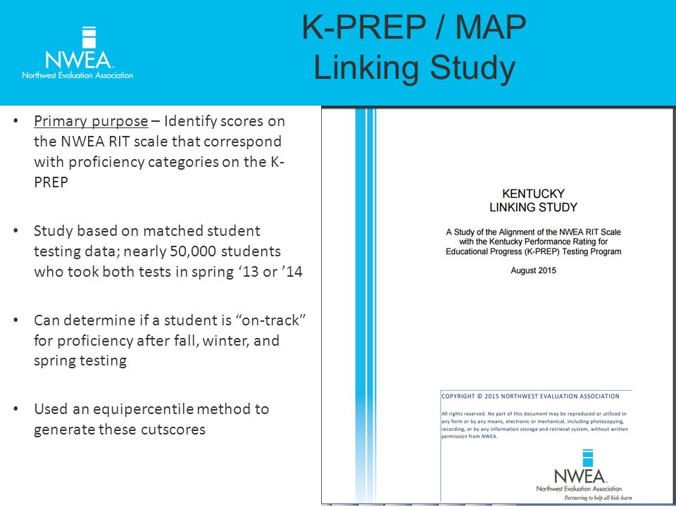 A Review of the MAP/K-PREP Linking Study and College