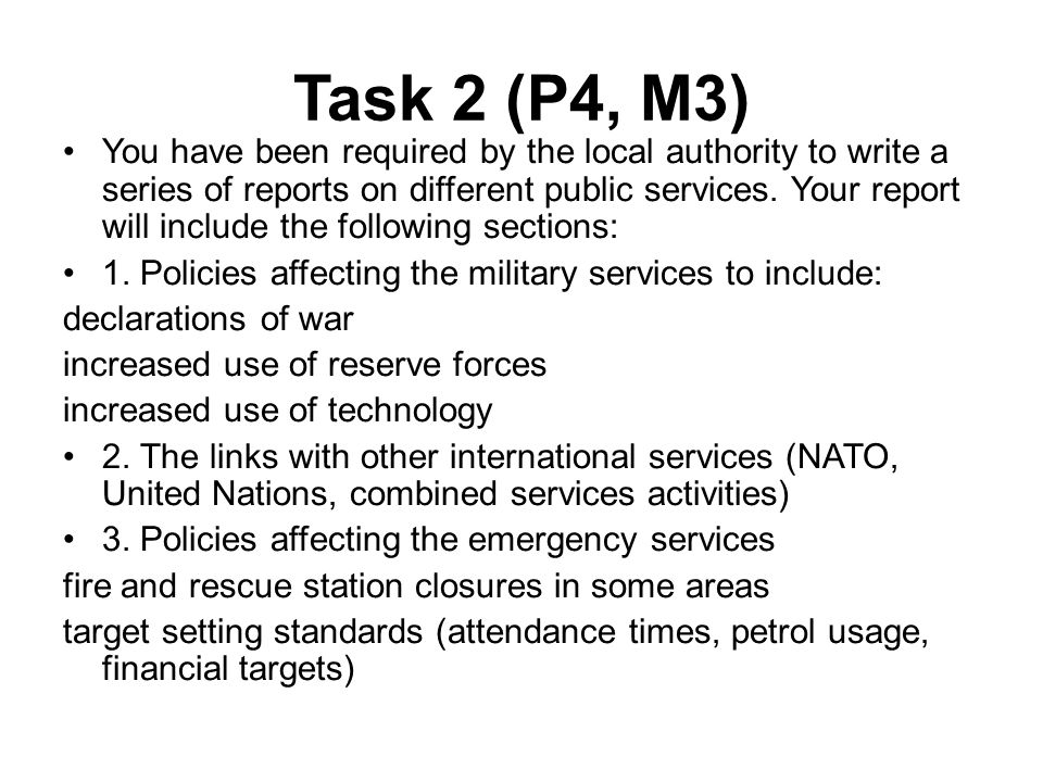 Unit 1 Government, Policies and the public services - ppt video