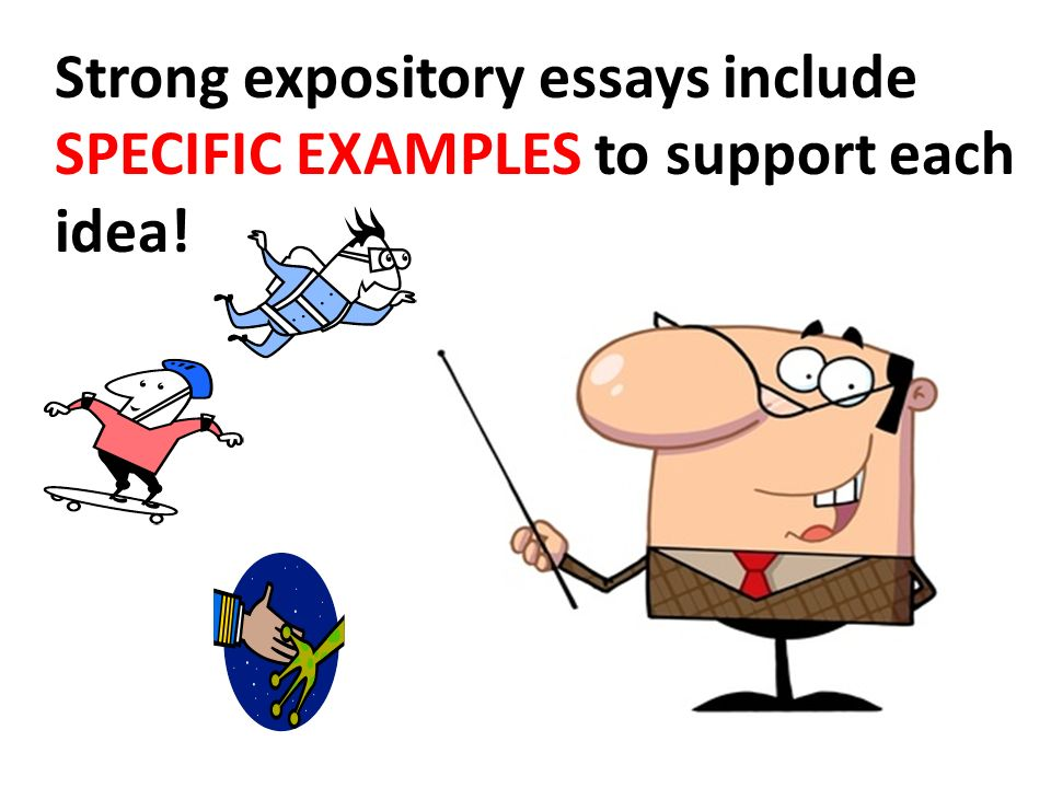 expository paper The expository essay—it's an unavoidable essay in your educational career in fact, teachers and professors love assigning it so much that some freshmen writing courses are devoted entirely to writing the expository essay that's a lot of expository essay writing if you're going to be.