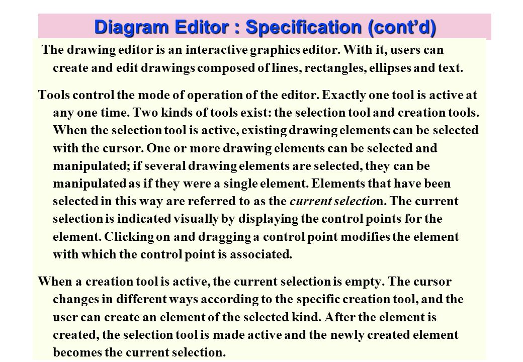 Diagram editor use case view ppt video online download 3 diagram editor ccuart Image collections