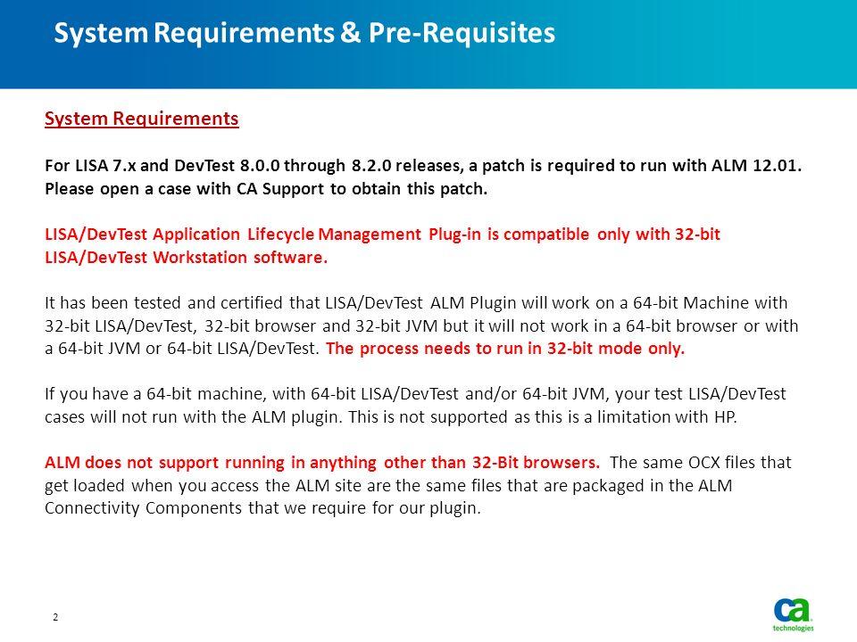 LISA/DevTest ALM Integration - ppt video online download