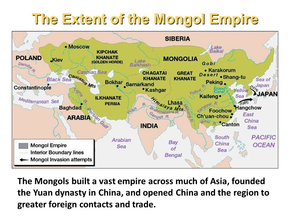 pastoral peoples mongols and yuan dynasty ppt video online download rh slideplayer com Mongol Empire Timeline Mongol Empire Map