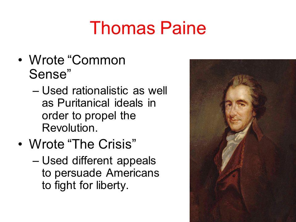 patrick henry and thomas paine