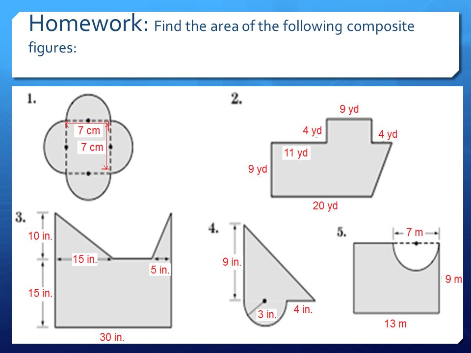 Find area and perimeter of compound shapes by richardflook9.