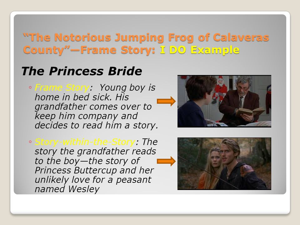 """The Notorious Jumping Frog of Calaveras County"""" by Mark Twain - ppt ..."""