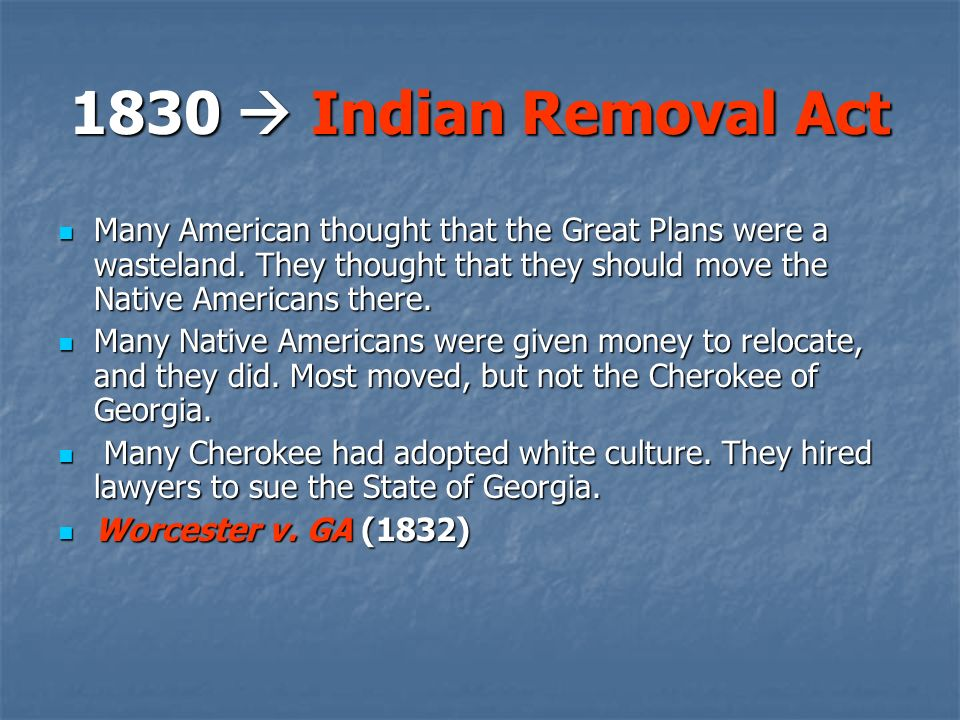 how the indian removal act was unjust essay Buy indian removal act essay paper online 1) describe the policy that andrew jackson employed in his quest for indian removal women's petition against removal with hundreds of signatures totally divulged the congress however the protest failed and the indian removal act was passed.