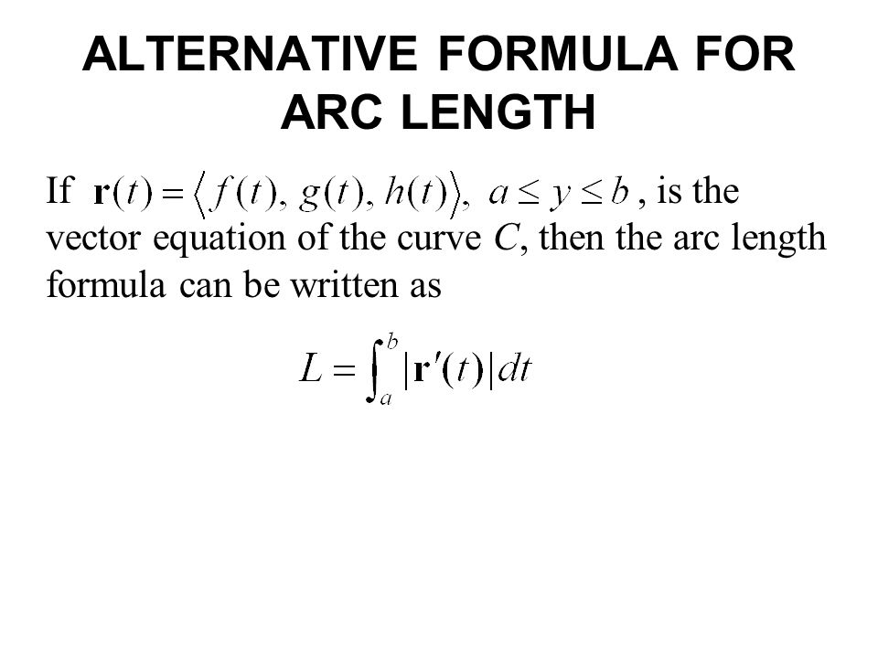 Arc Length and Curvature - ppt video online download