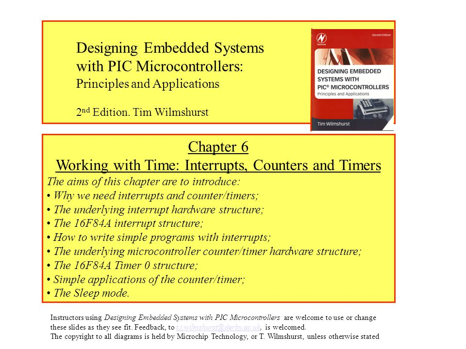 Working with Time: Interrupts, Counters and Timers - ppt download