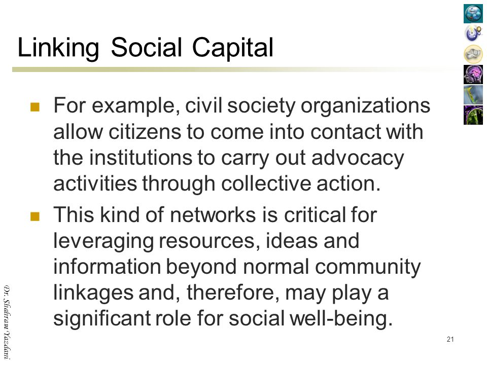 Social Capital Sustainable Development Ppt Video Online Download