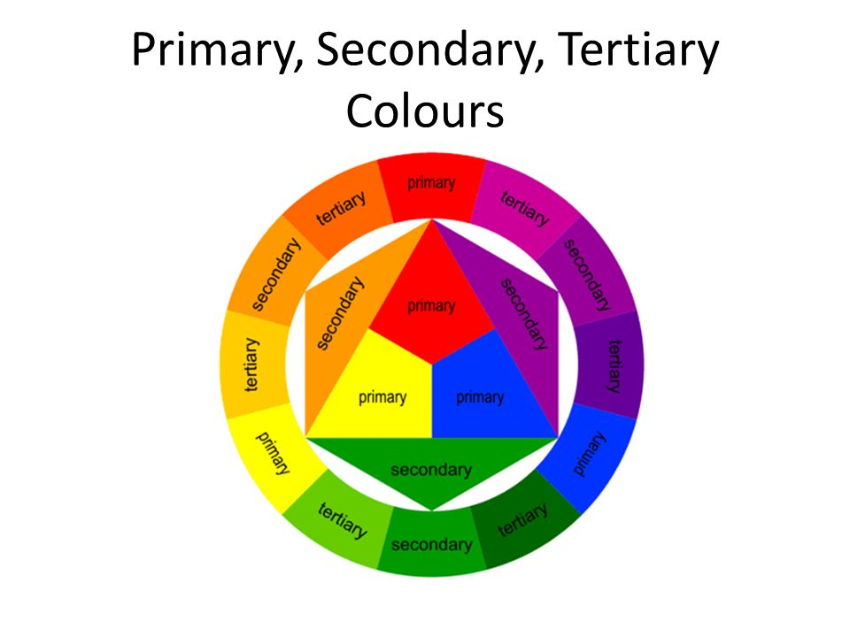 Primary Secondary Tertiary Colours Ppt Download