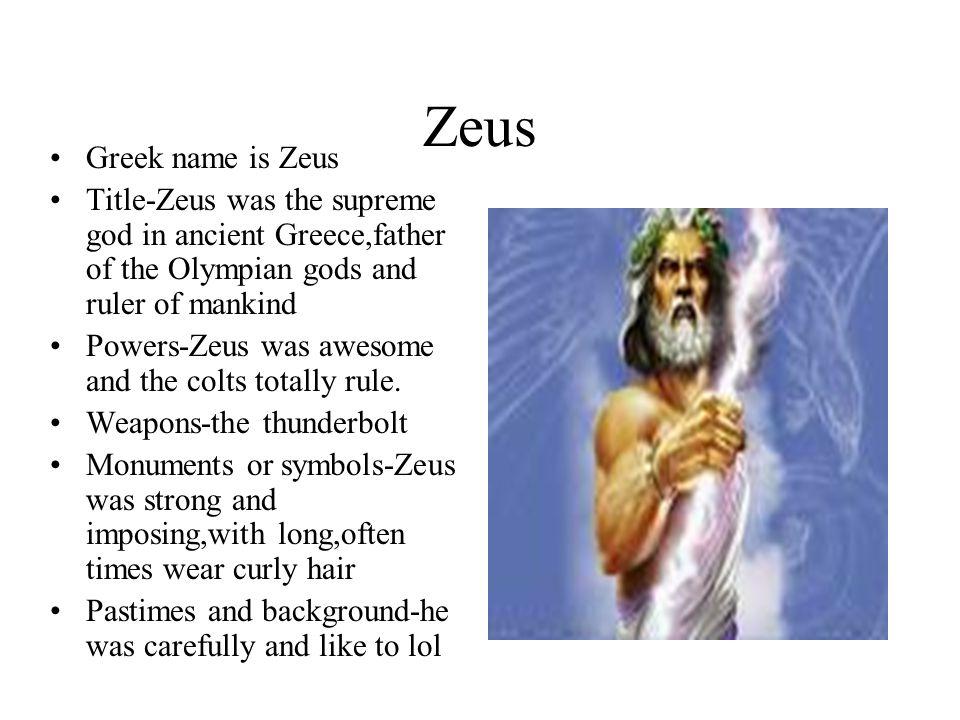 Greek Mythology Project Ppt Download