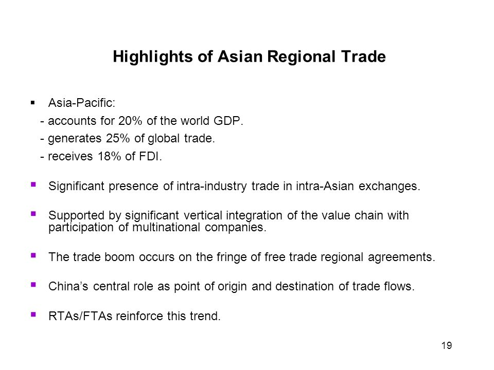 East Asian Economy Trade In East Asia Ppt Download