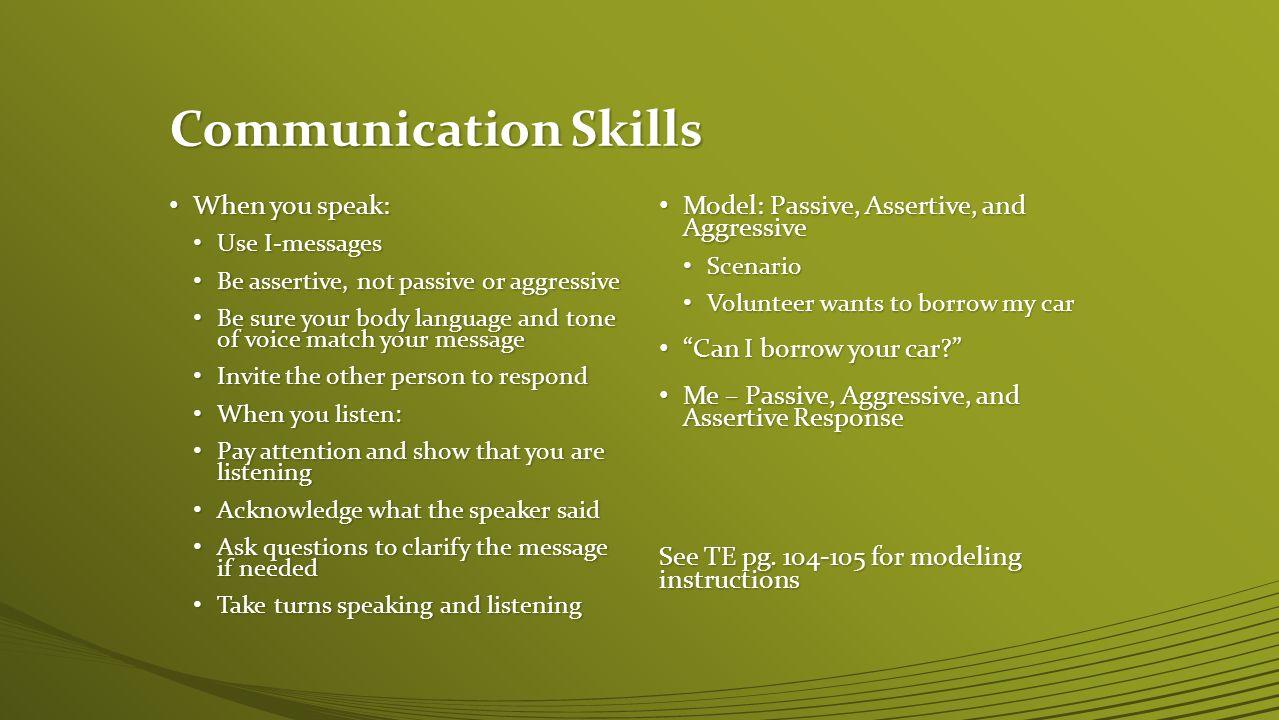 Skills For Effective Communication - ppt video online download