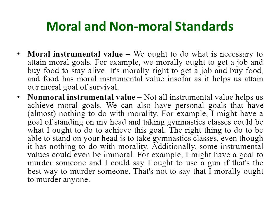 What is a non moral value moral vs non-moral values patheos.