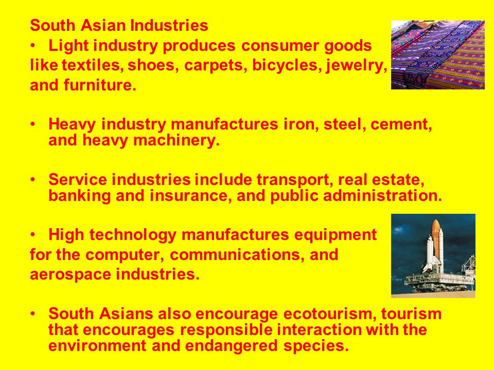 South asian industry