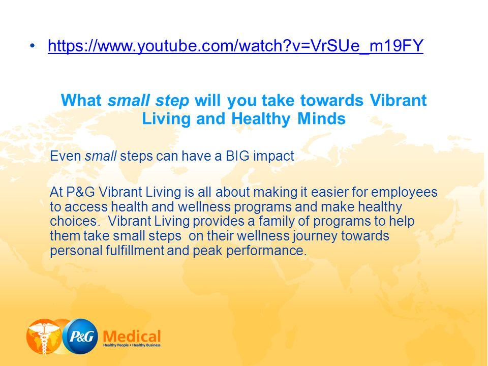 What Small Step Will You Take Towards Vibrant Living And Healthy Minds