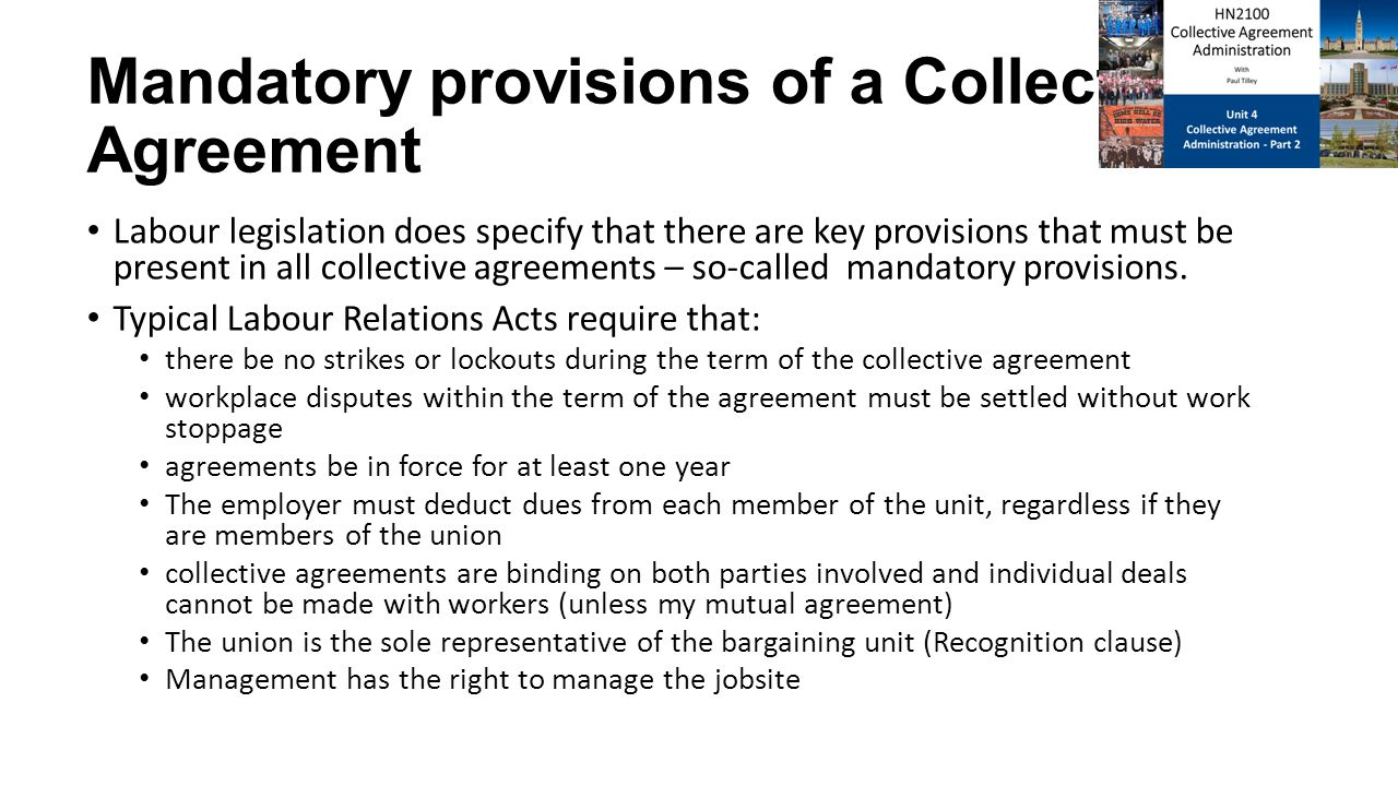 Hn2100 Collective Agreement Administration Ppt Download