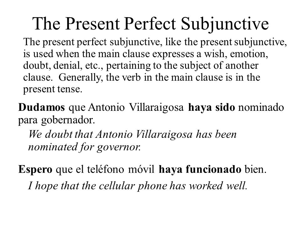 Past Perfect Subjunctive Tense Budra