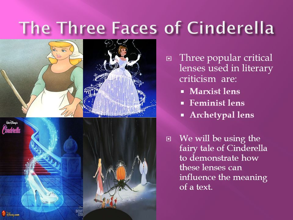 Critique fairy tale and cinderella - Coursework Sample