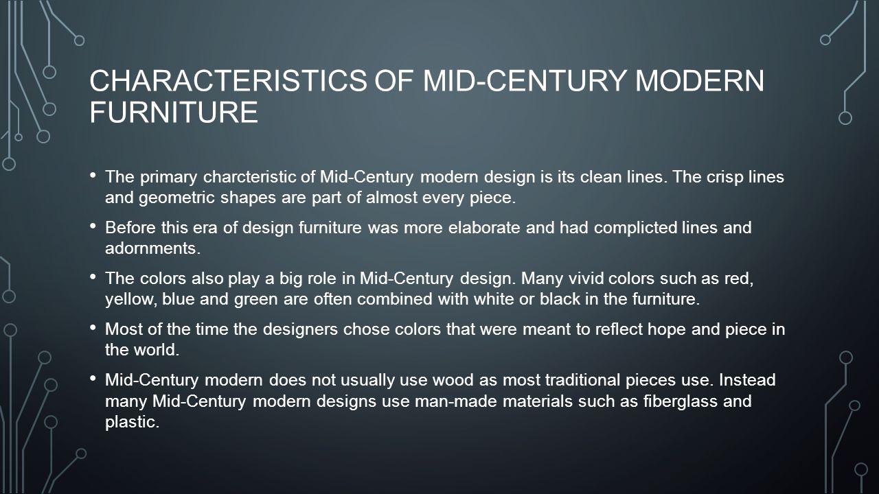 Mid-century modern. - ppt download