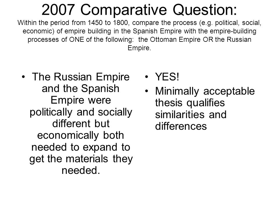 Compare and contrast the spanish and ottoman empires