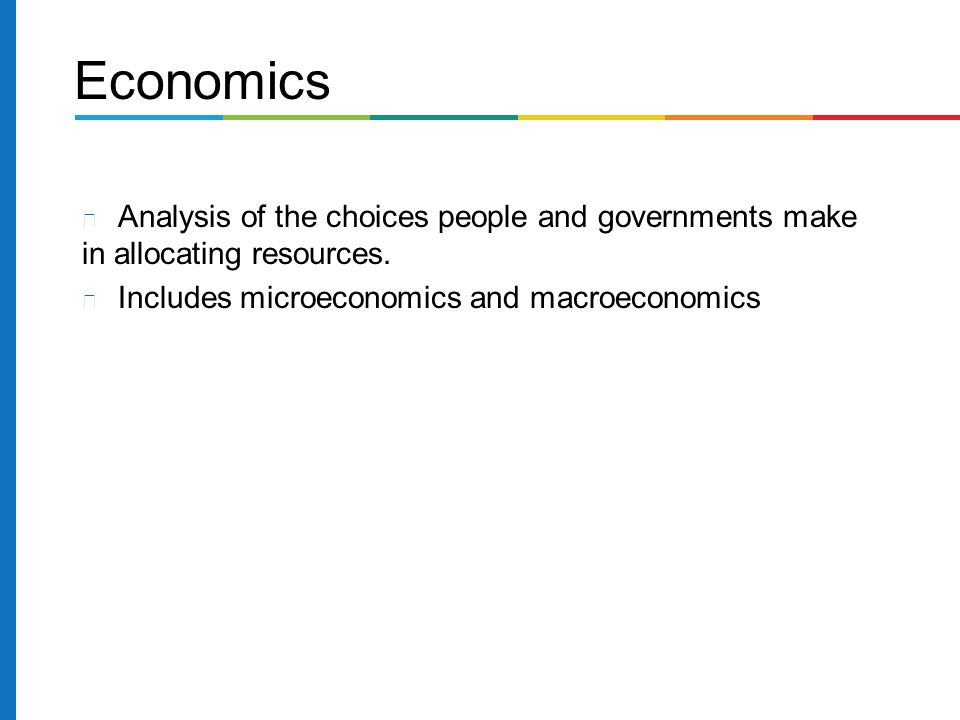Economic Challenges Facing Contemporary Business - ppt video