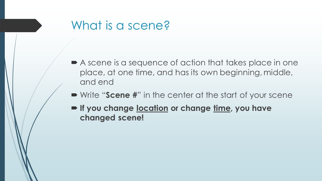 What is a scene 36