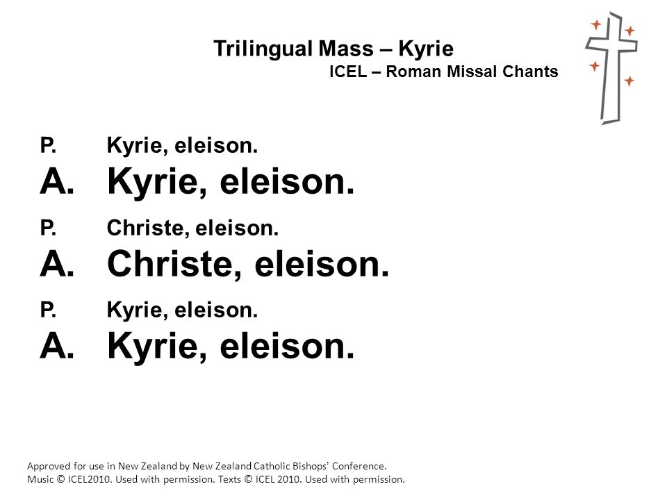 Trilingual Mass – Lord have Mercy - ppt video online download