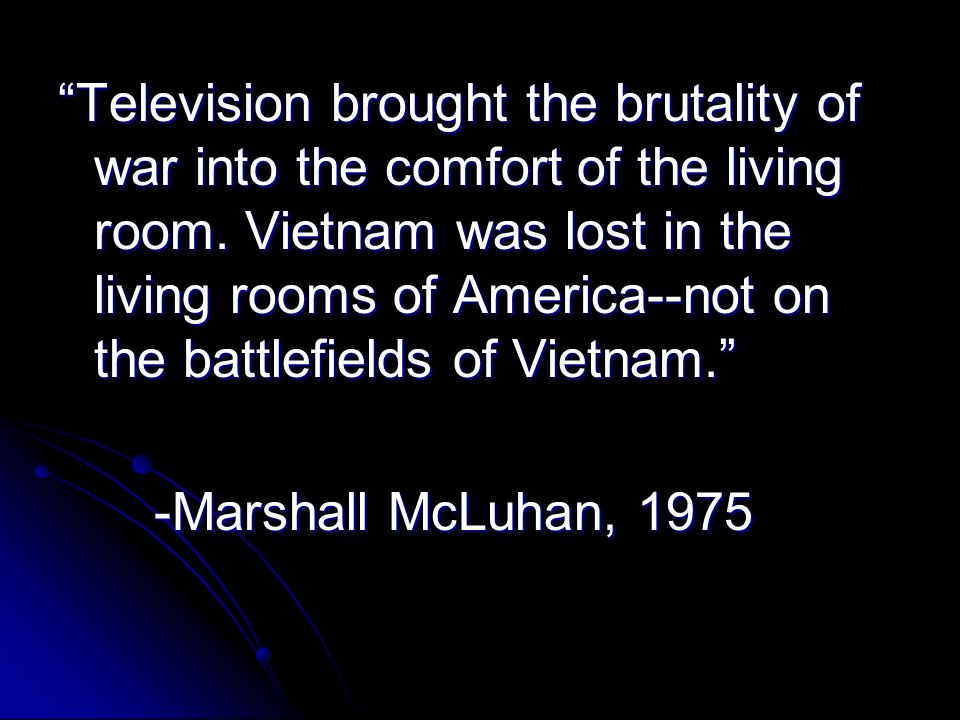 the living room war television brought the brutality of war into the comfort 12899