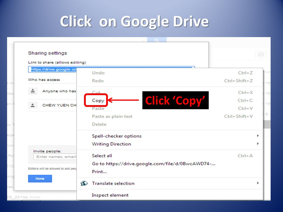 Integrate Google Drive Apps With VLE-Frog - ppt video online
