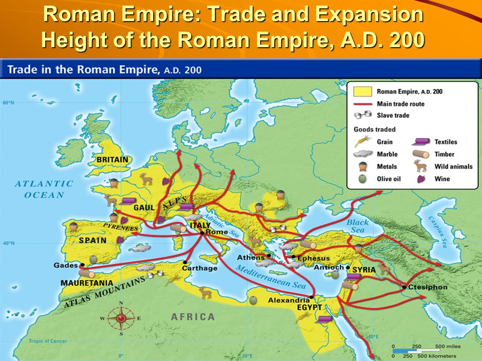 Height Of The Roman Empire Map.Do Now What Role Did Geography Play In The Prosperity And