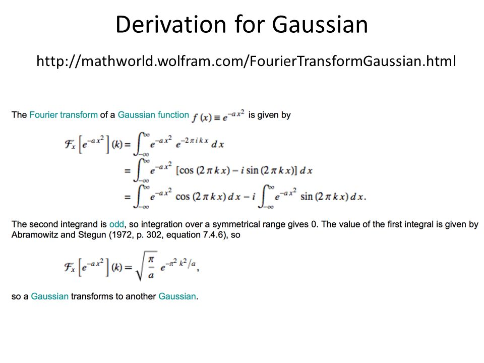 Lecture 5: Fourier and Pyramids - ppt download