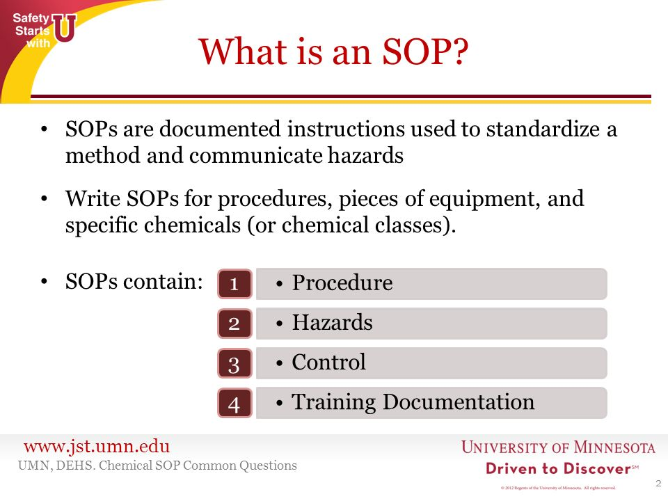 Why Sop Is Used | Standard Operating Procedures Ppt Download