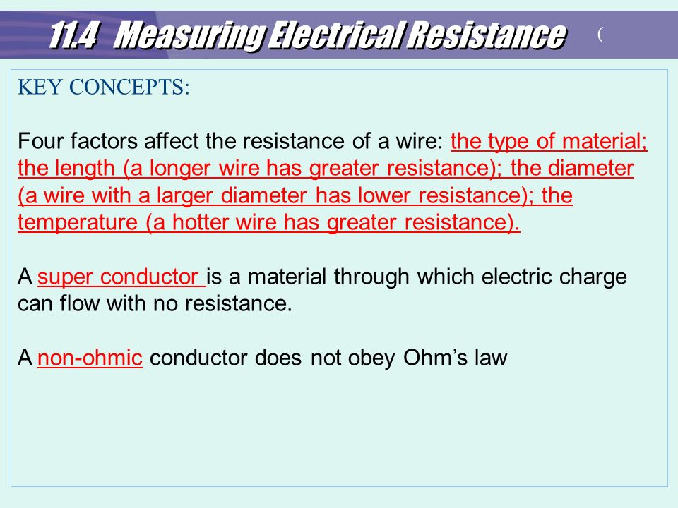 how does the length of a wire affect resistance in a circuit The connection between current, voltage and resistance was  how does length affect resistance when the length of the wire increases, resistance increases.