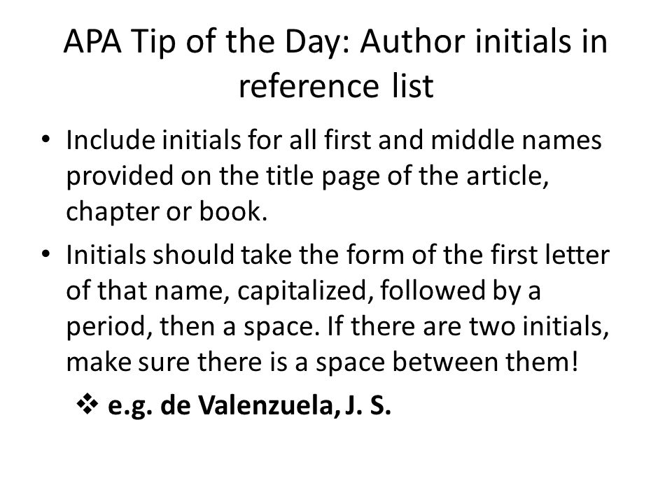 APA Tip of the Day Quotes ppt