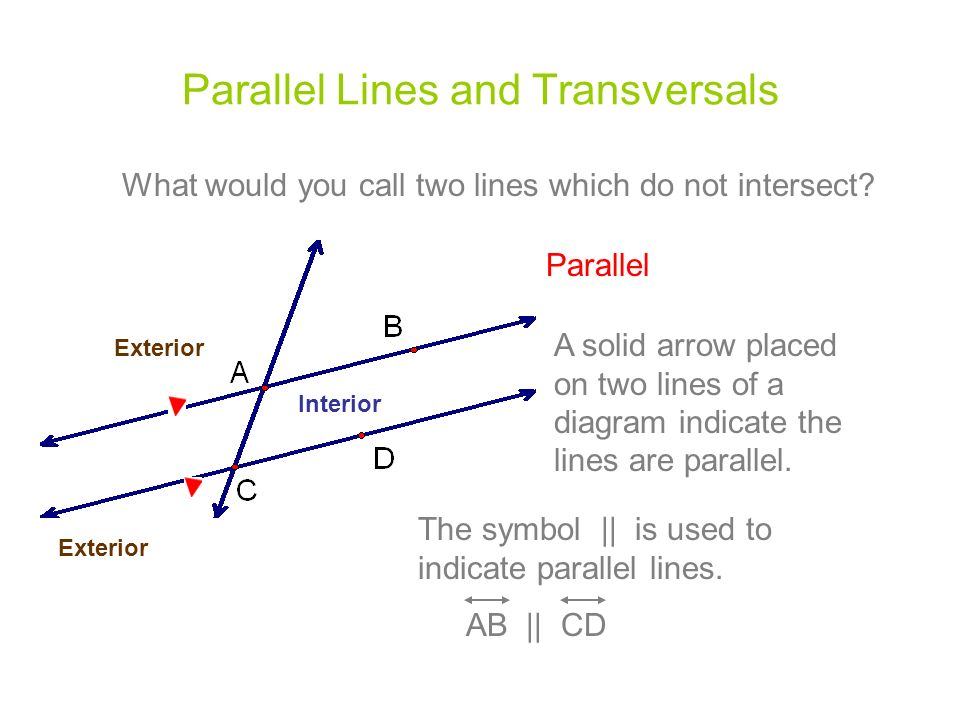 33 Parallel Lines Transversals Mr Miller Geometry Ppt Video