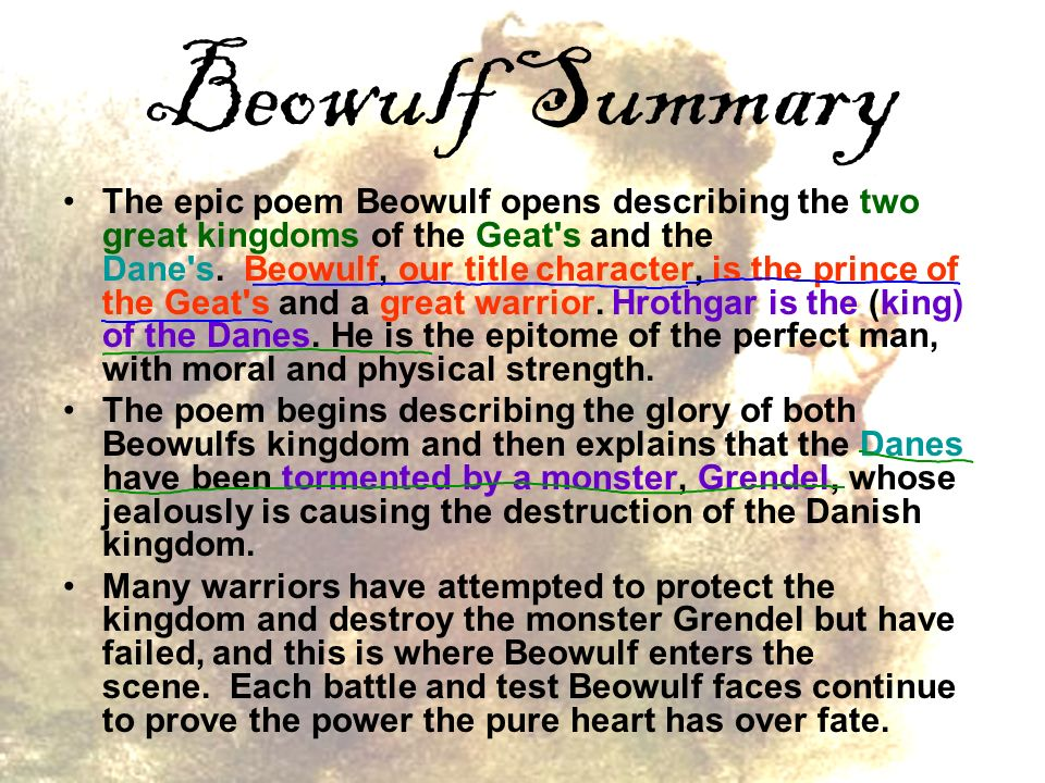 poems about beowulf character