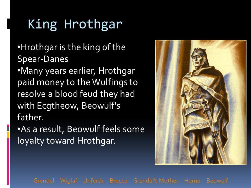wiglaf beowulf character traits
