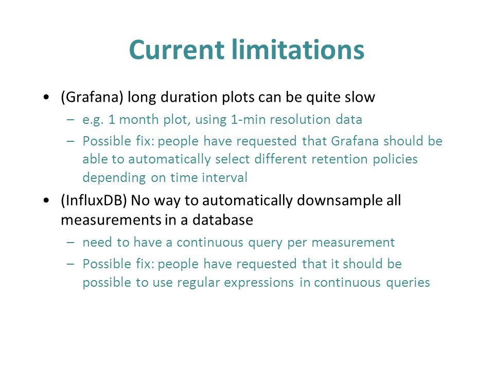 Monitoring with InfluxDB & Grafana - ppt video online download
